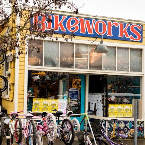 Bikeworks, a cooperative bike shop in Seattle