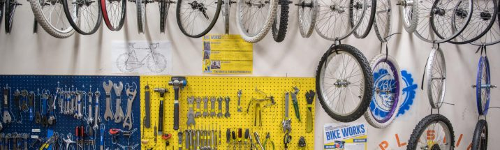 Free Public Tours of Bike Works